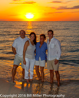 Katherine Frederick Florida family beach portraits South Beach by Bill Miller Photography