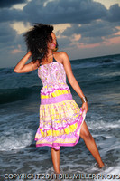 Enasha sunrise modeling Hollywood beach