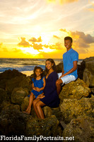 Miami Fort Lauderdale Florida family vacation portraits by Bill Miller Photography.