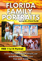 Miami Fort Lauderdale Florida family vacation portraits by Bill Miller