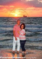 Miami South Florida beach engagements by Bill Miller Photo