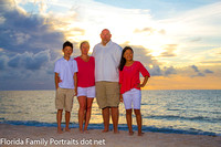 Greve Fort Lauderdale Family vacation portraits