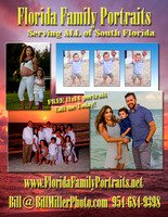 Fort Lauderdale Miami Florida family portraits by Bill Miller Photography